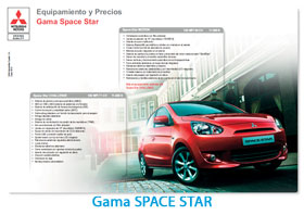 gama space star